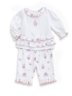 Kissy Kissy - Infant's Enchanted Princess Two-Piece Top & Pants Set