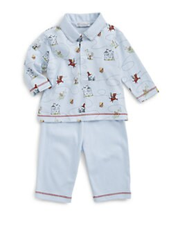 Kissy Kissy - Infant's Two-Piece Chasing Dragons