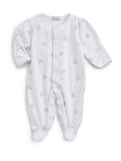 Kissy Kissy - Infant's Cherished Teddy Pima Cotton Footie