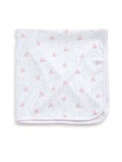 Kissy Kissy - Infant's Cherished Teddy Pima Cotton Blanket