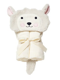 Elegant Baby - Lamb Hooded Bath Wrap
