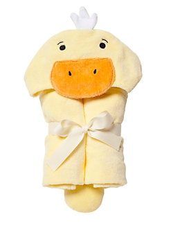 Elegant Baby - Duck Hooded Bath Wrap