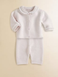 Kissy Kissy - Infant's Two-Piece Knit Cardigan & Pants Set