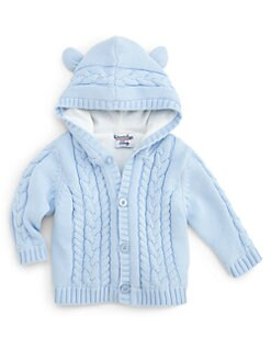 Hartstrings - Infant's Ears Hooded Cardigan