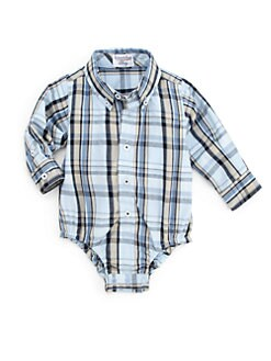 Hartstrings - Infant's Plaid Bodysuit
