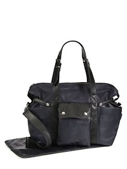 Not Rational - Hansel Leather Diaper Bag