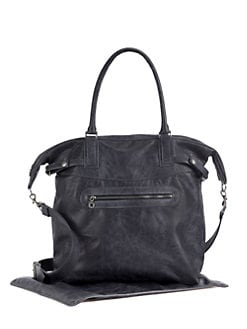 Not Rational - Cooper Leather Diaper Bag