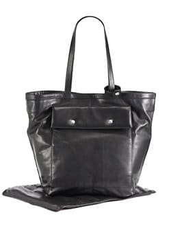 Not Rational - Ruby Leather Diaper Bag