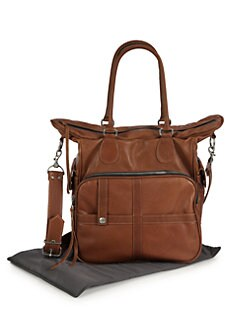 Not Rational - Amy Leather Diaper Bag