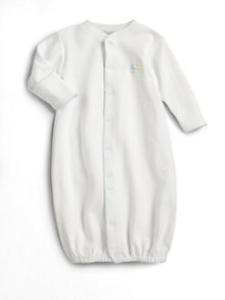 Kissy Kissy - Infant's Converter Gown/ Blue Moon