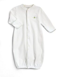 Kissy Kissy - Infant's Converter Gown/ Green Celery
