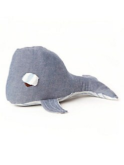 Oliver & Adelaide - Infant's Whale Rattle