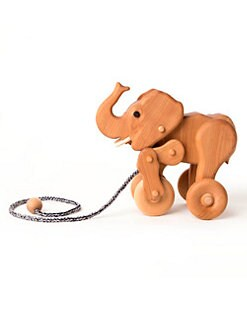 Oliver & Adelaide - Infant's Ethan the Elephant Pull Toy