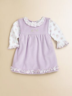 Kissy Kissy - Infant's Velour Jumper & Bodysuit Set