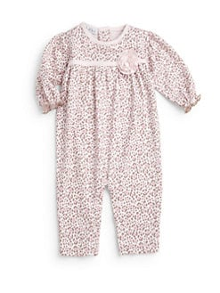 Kissy Kissy - Infant's Cheetah Print Playsuit