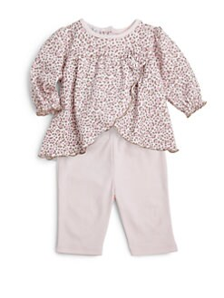 Kissy Kissy - Infant's Two-Piece Baby Cheetah Top & Pants Set