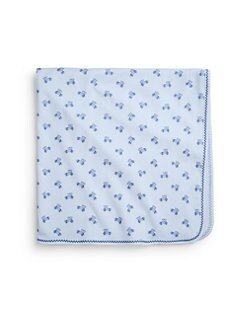 Kissy Kissy - Infant's Roadster Pima Cotton Blanket