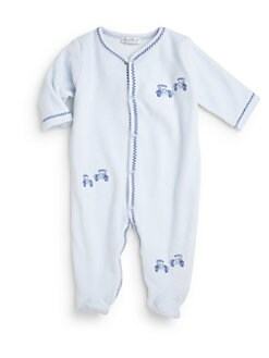 Kissy Kissy - Infant's Velour Roadster Footie