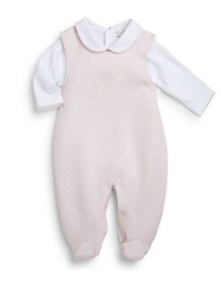 Kissy Kissy - Infant's Two-Piece Quilted Footie & Bodysuit Set