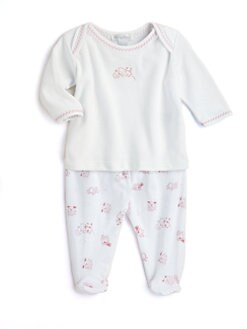 Kissy Kissy - Infant's Two-Piece Hey Diddle Diddle Tee & Pants Set