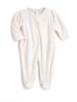 Kissy Kissy - Infant's Velour Footie