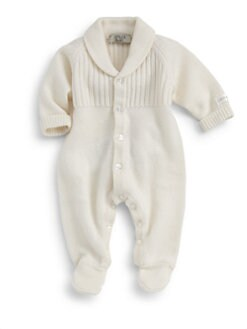 Armani Junior - Infant's Cashmere Footie
