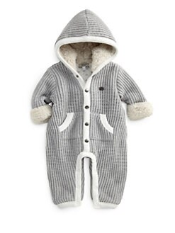 Armani Junior - Infant's Knit Coverall