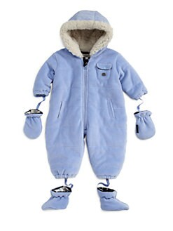 Armani Junior - Infant's Velour Snowsuit