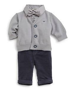 Armani Junior - Infant's Three-Piece Bodysuit, Jumper & Hat Set