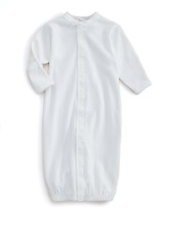 Royal Baby - Infant's Diamond-Stitched Convertible Gown