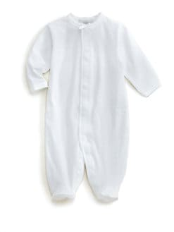 Royal Baby - Infant's Diamond-Trimmed Footie