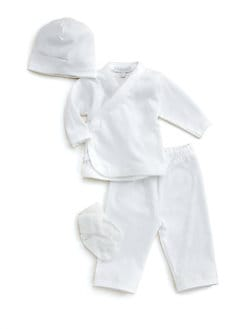 Royal Baby - Infant's Diamond-Stitched 4-Piece Take Home Set