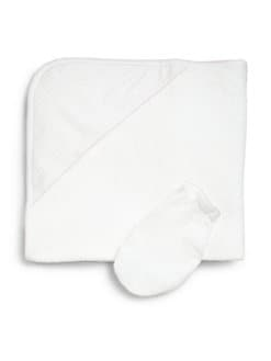 Kissy Kissy - Infant's Two-Piece Hooded Towel & Mitt Set