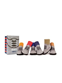 Trumpette - Infant's Oliver Oxford Six-Piece Sock Set
