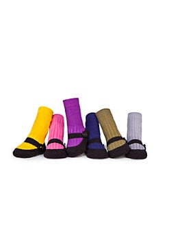Trumpette - Infant's Olivia Six-Piece Mary Jane Sock Set