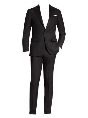 Polo Peaked-Lapel Tuxedo