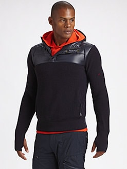 RLX Ralph Lauren - Merino Wool Hooded Sweater