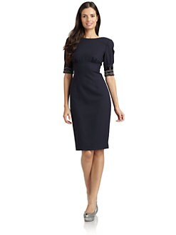 Magaschoni - Embellished Cuff Dress
