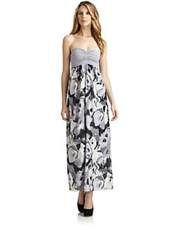 susana monaco - Raegan Strapless Maxi Dress