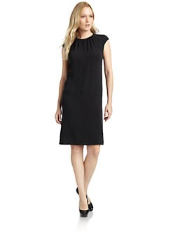 Magaschoni - Silk Cap Sleeve Dress