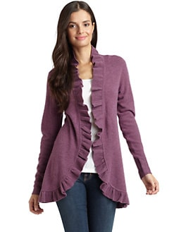Magaschoni - Cashmere Ruffled Cardigan
