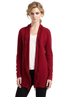 Magaschoni - Cashmere Fringe Cardigan