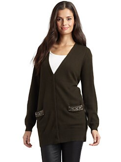 Magaschoni - Embellished Cashmere Cardigan
