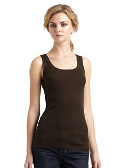 Magaschoni - Ribbed Tank Top