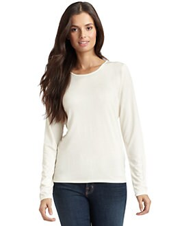 Magaschoni - Silk Jersey Long-Sleeved Top