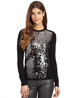Magaschoni - Sequin Pullover/Black