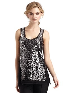 Magaschoni - Beaded Tank Top