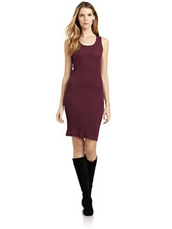 Magaschoni - Sleeveless Ribbed Knit Dress