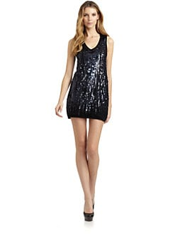 Magaschoni - Cashmere Embellished Dress/Black