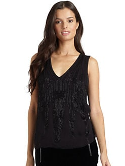 Magaschoni - Beaded Top